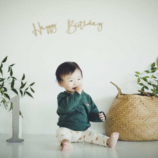 1歳記念 バースデーフォト