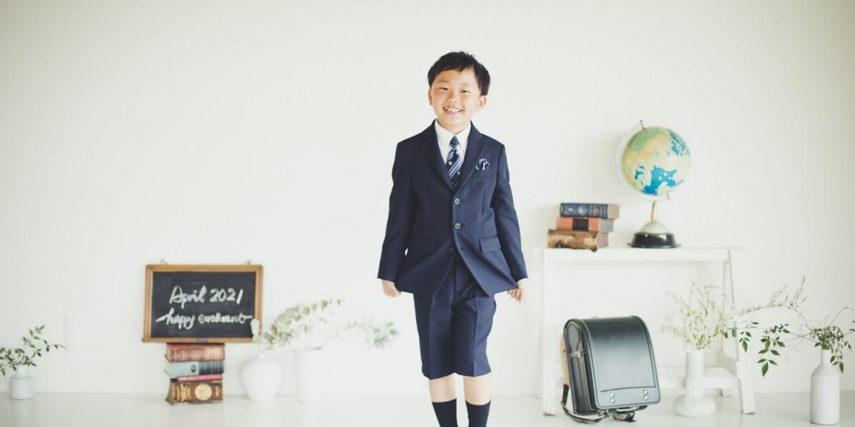 ご入学写真 小学校入学記念